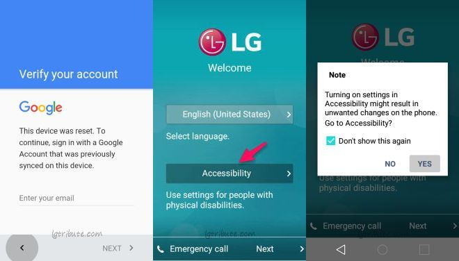 LG Tribute 5 How to Bypass Google Account - LG Tribute Blog