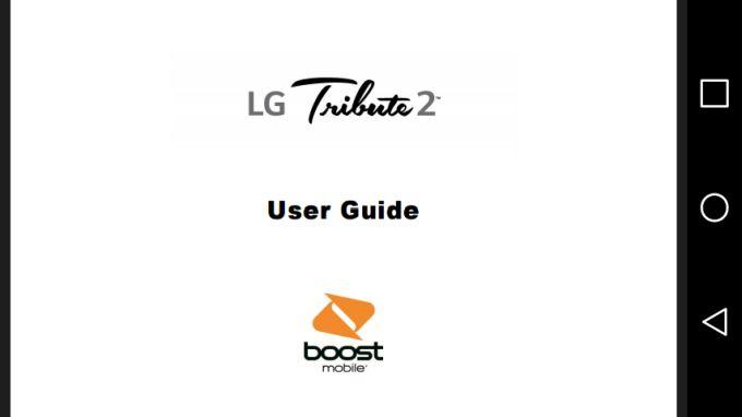 Tribute 2 User Manual