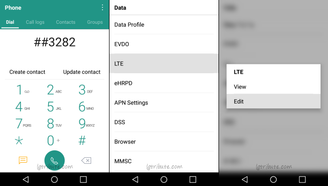 tribute hd dialer code data menu