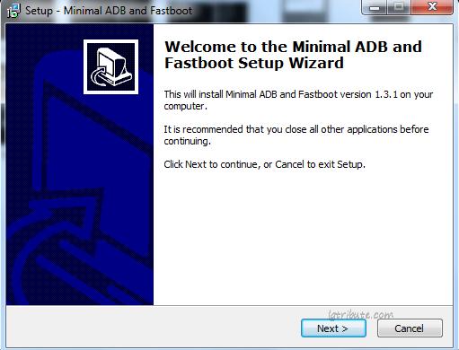 tribute hd minimal adb fastboot