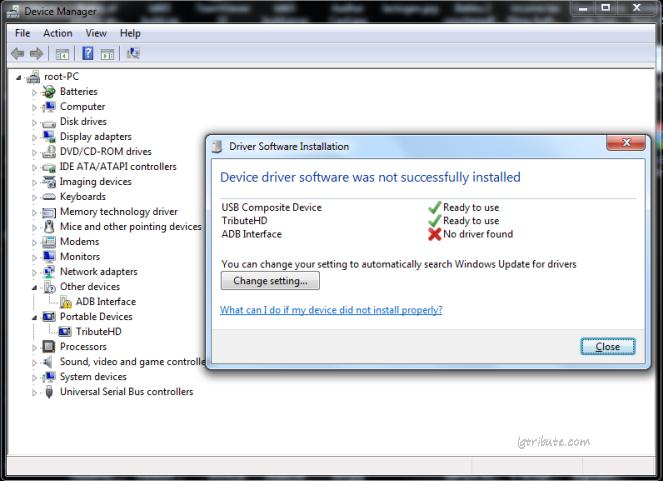 lg ls676 adb driver installation