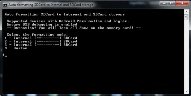 lg tribute hd auto formatting sd card adoptable storage