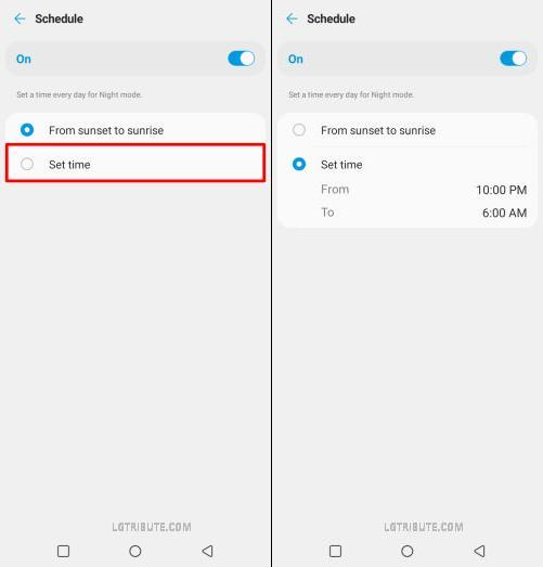 how to get dark mode on lg stylo 6