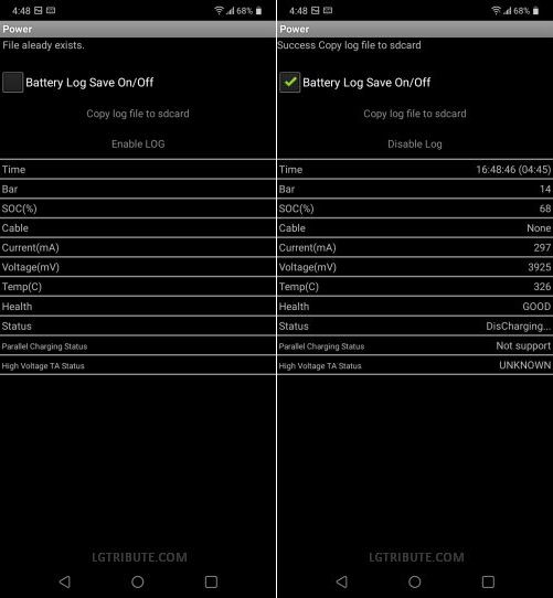 LG Stylo 6 Battery Information & Health