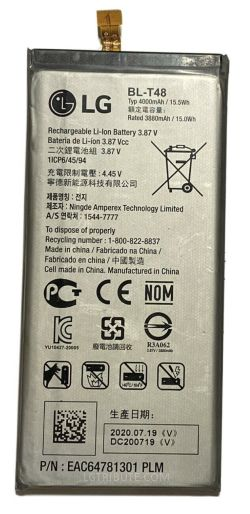 LG Stylo 6 Battery Replacement BL-T48
