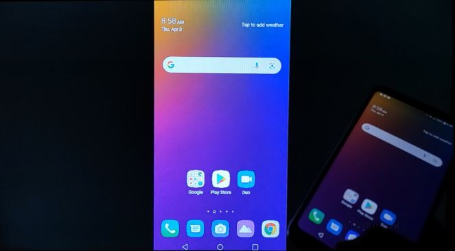 can you mirror lg stylo 5 to tv